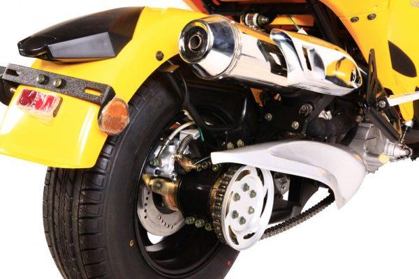 Kandi Cyclone 250CC Trike Motorcycle