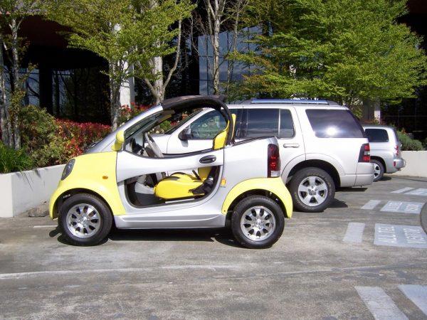 Kandi COCO Convertible Electric Car (KD08E)