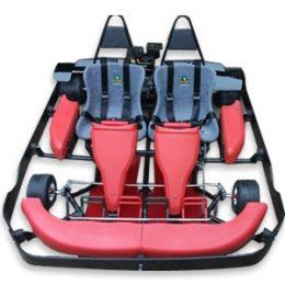 Road Rat Racer 9.5 HP XB Double Go Kart (Bumper Edition)