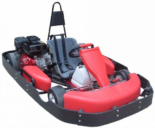 Road Rat Racer 9.0hp XB Single Go Kart (Bumper Edition)