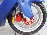 "150cc Eagle style 13"" MC-D150B   FREE Trunk"