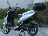 "150cc Sporty 13"" disc/Alloy Rim MC-D150F FREE Trunk"