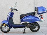 "150cc Vintage Style 13""/Trunk MC-D150N FREE Trunk"