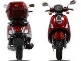 "150cc Retro Style 13""/trunk MC-D150S FREE Trunk"