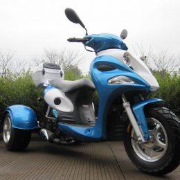 50cc Automatic  3 Wheels MC-TS50S-12 gas Trike scooter
