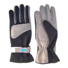 Zeal Race Kart Gloves black/grey