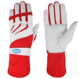 Zeal Race Kart Gloves red/white