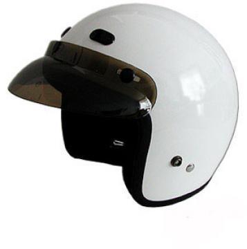 RMTW2 - DOT 3/4 Motorcycle Helmet. Three Quarter Helmet