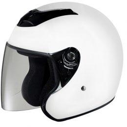 RKW - DOT Motorcycle Helmet RK-4 Open Face with Flip Shield