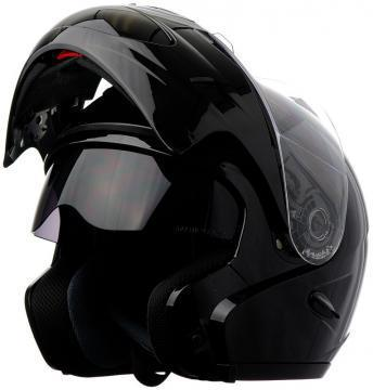 RF18- DOT Double Retractable Visor Modular Motorcycle Helmet
