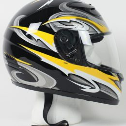 RZ80Y - DOT Full Face Graphic Motorcycle Helmet