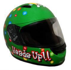 RZ3K - M&M Licensed Kids Full Face Motorcycle Helmet