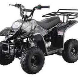 SMALL 110cc KIDS ATVS Rack